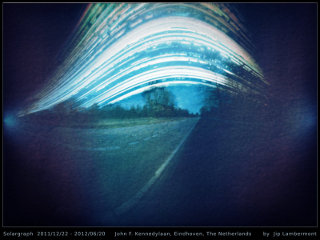 Solargraph Kennedylaan Eindhoven, the Netherlands, by Jip Lambermont